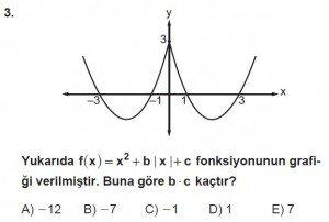 11. Sınıf ileri Matematik kazanım Test 6 soru3
