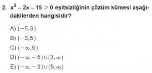 11. Sınıf ileri Matematik kazanım Test 8 soru2