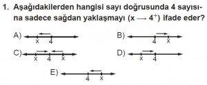 12. Sınıf Matematik kazanım Test 3 soru1