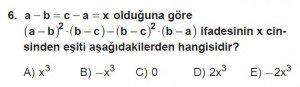 12. Sınıflar Matematik kazanım Test 13 soru6