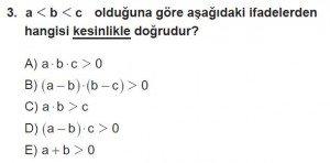 12. Sınıflar Matematik kazanım Test 8 soru3