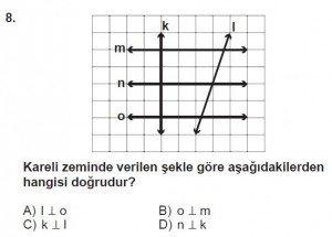5. Sınıf Matematik kazanım Test 7 soru 8