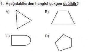 5. Sınıf Matematik kazanım Test 8 soru 1