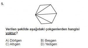 5. Sınıf Matematik kazanım Test 8 soru 5