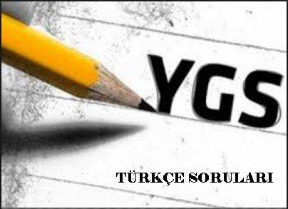 2016 Ygs Türkçe Soruları