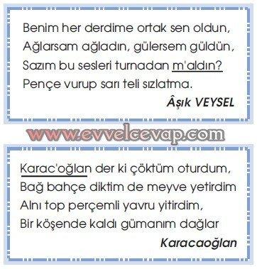 Anadolu'da Konukseverlik Gelenekseldir 7. Etkinlik Cevabı