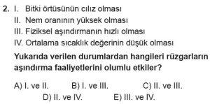 12.lar Sınıf Coğrafya Test 15 Soru-2