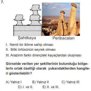 12.lar Sınıf Coğrafya Test 15 Soru-7
