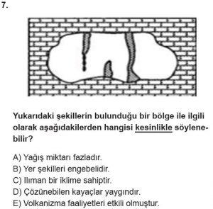 12.lar Sınıf Coğrafya Test 16 Soru-7