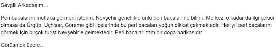 Aziz Türkiye'm 6. Etkinlik Cevabı