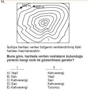 Mezun Coğrafya Test 3 Soru-11