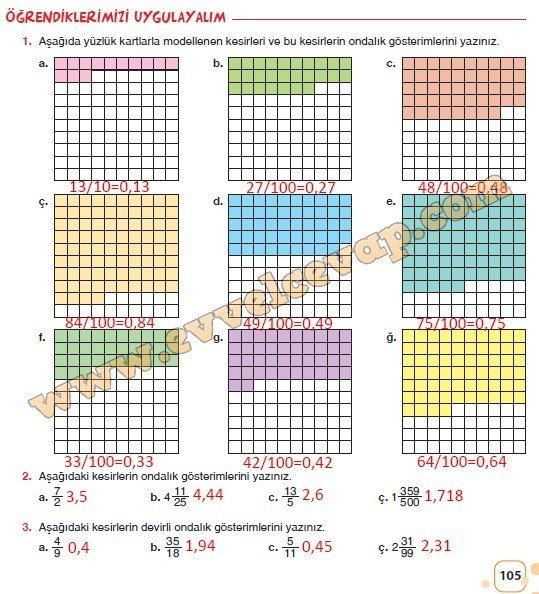 6-sinif-sevgi-yayinlari-matematik-ders-kitabi-sayfa-105-cevabi