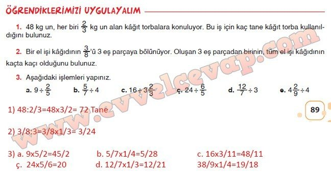 6-sinif-sevgi-yayinlari-matematik-ders-kitabi-sayfa-89-cevabi