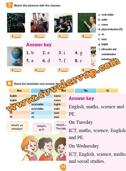 5-sinif-evrensel-iletisim-yayinlari-ingilizce-ogrenci-kitabi-sayfa-31-cevabi