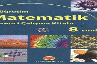 8. Sınıf Sevgi Yayınları Matematik Çalışma Kitabı Tüm Cevapları
