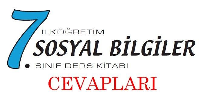 7. Sınıf Ekoyay Yayınları Sosyal Bilgiler Ders Kitabı Cevapları