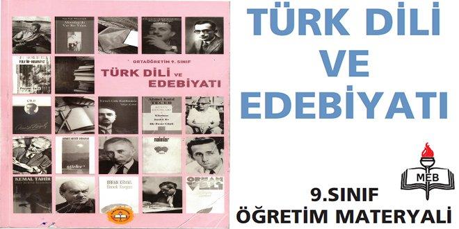 9. Sınıf Türk Dili ve Edebiyatı Kitabı Cevapları Meb Yayınları