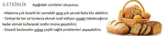 5.Sınıf MEB Yayınları  Türkçe Ders Kitabı Sarımsak Soslu Makarna Metni  (112. 113. 114. 115. 116  ve 117.Sayfa Cevapları)