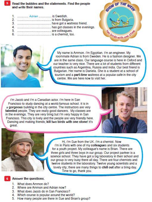 9 Sınıf Meb Yayınları Ingilizce Ders Kitabı Sayfa 17 Cevabı