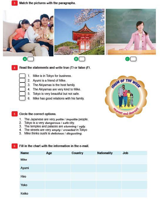 9 Sınıf Meb Yayınları Ingilizce Ders Kitabı Sayfa 23 Cevabı