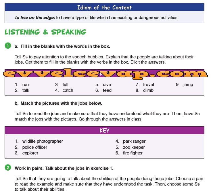 9 Sınıf Meb Yayınları Ingilizce Ders Kitabı Sayfa 56 Cevabı