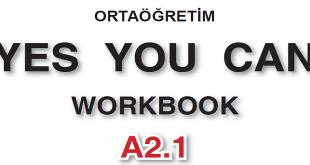 İngilizce Meb Yayınları Yes You Can A2.1 Workbook Cevapları