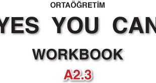 İngilizce Meb Yayınları Yes You Can A2.2 Workbook Cevapları