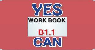 İngilizce Meb Yayınları Yes You Can B1.1 Workbook Cevapları