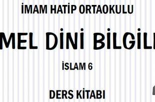 6. Sınıf Meb Yayınları Temel Dini Bilgiler Ders Kitabı Cevapları