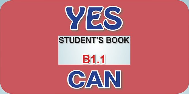 İngilizce Meb Yayınları Yes You Can B1.1 Student's Book Cevapları