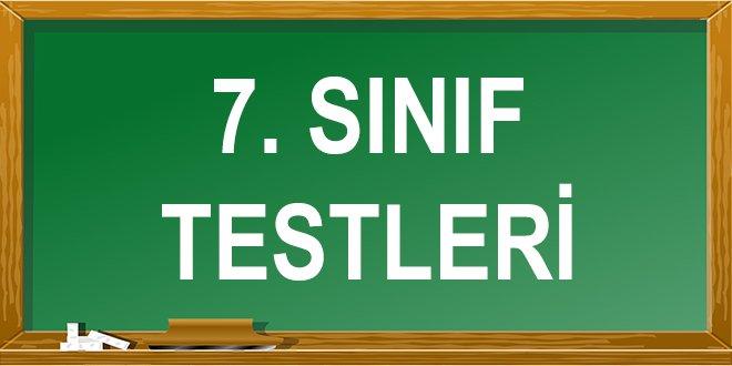 7. Sınıf Testleri Çöz