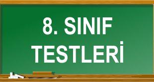 8. Sınıf Testleri Çöz