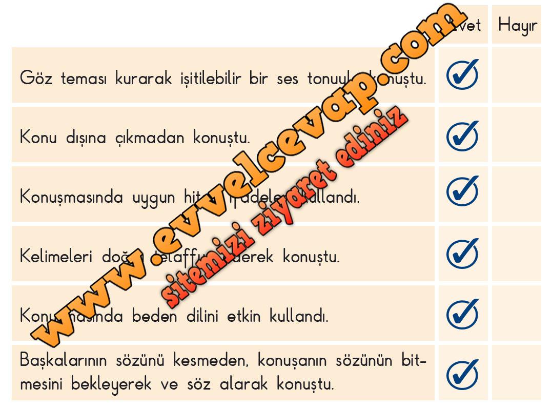 Bayrak Hasreti Metni Etkinlik Cevapları 3 Sınıf Türkçe