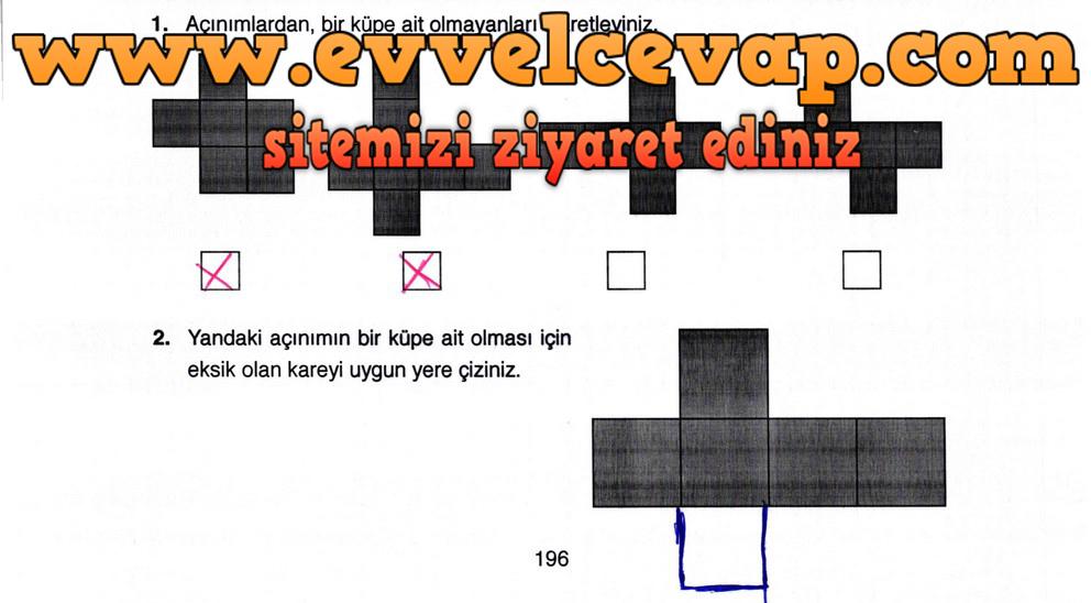 4 Sınıf Ata Yayıncılık Matematik Ders Kitabı Sayfa 196 Cevabı