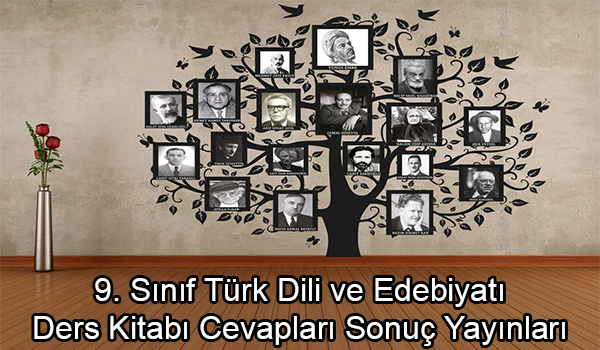 9. Sınıf Türk Dili ve Edebiyatı Ders Kitabı Cevapları Sonuç Yayınları