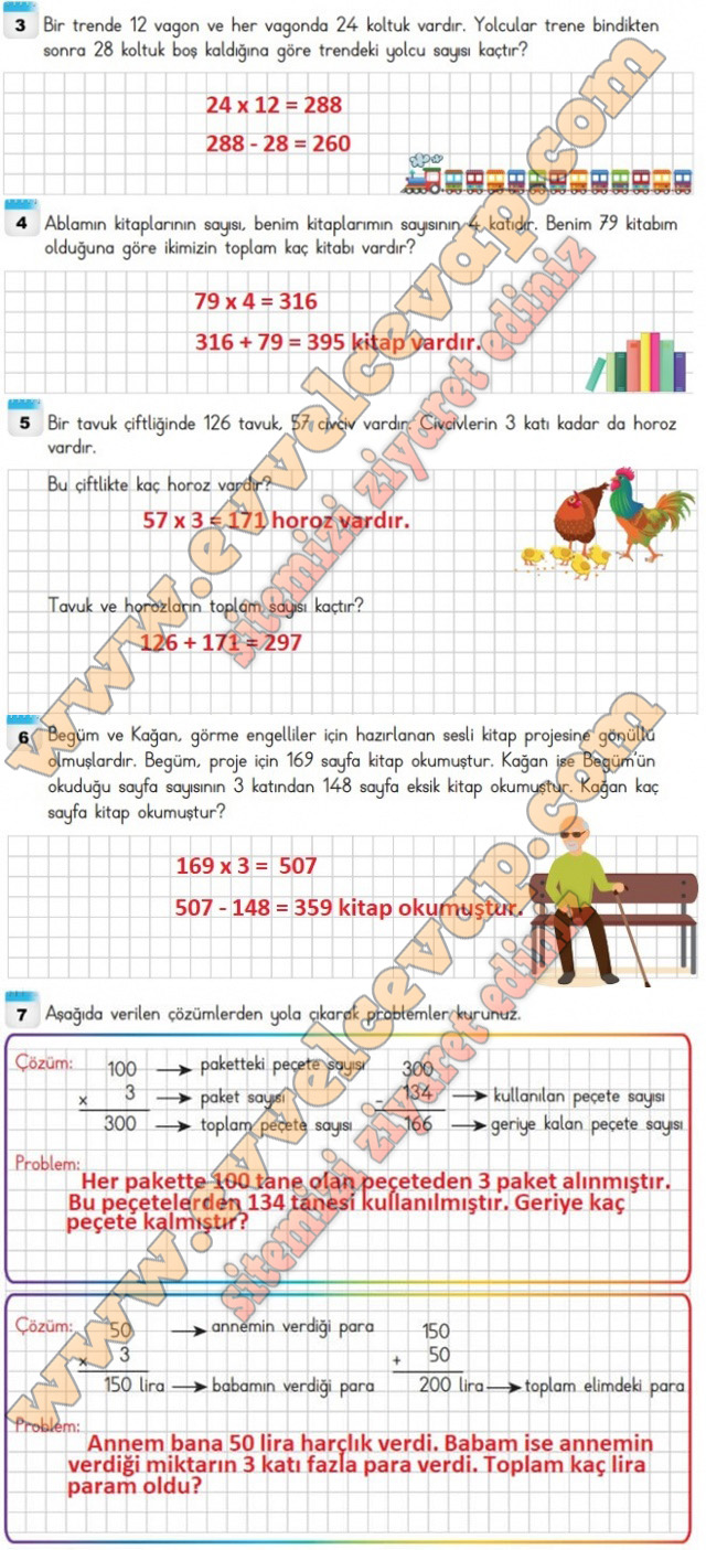 4 sinif matematik ders kitabi sayfa