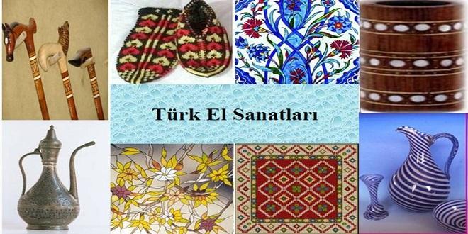 Geleneksel Türk el sanatları hakkında büyüklerinize sorarak ya da çeşitli kaynaklardan yararlanarak araştırma yapınız.