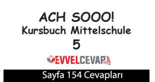 5. Sınıf Almanca A2-1 ders kitabı sayfa 154 cevapları meb yayınları