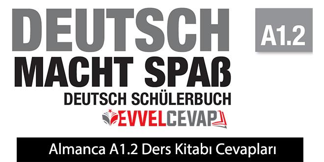 Almanca A1.2 Ders Kitabı Cevapları Meb Yayınları