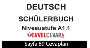 Almanca A1-1 ders kitabı sayfa 89 cevapları ata yayınları