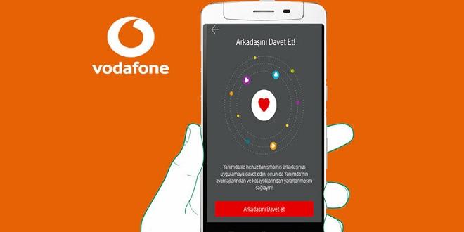 Vodafone Yanımda Arkadaşını Davet Et