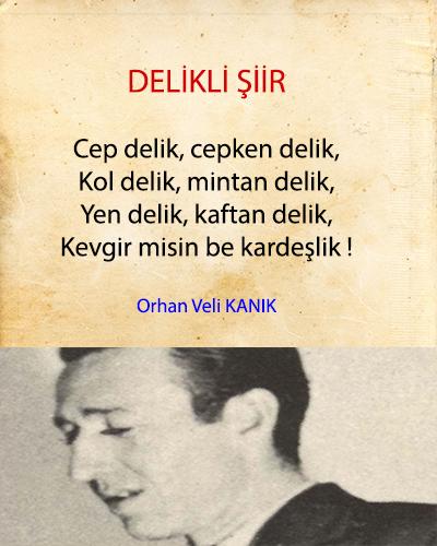 Delikli Şiir İncelemesi Orhan Veli