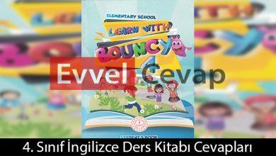 4. Sınıf İngilizce Ders Kitabı Cevapları Tuna Matbaacılık